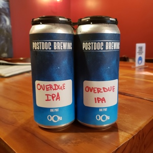 Overdue IPA - 4pk 16oz Cans